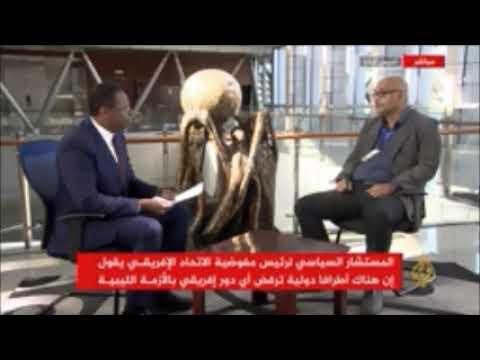 مكي المغربي الدور الافريقي في ليبيا لن يتغير كثيرا حتى بعد دخول الجزائر بقوة