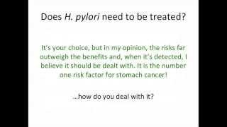H Pylori Treatment in 2013