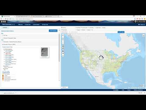 Lesson 4d: The National Map Download Manager Tool