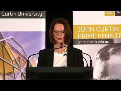 Great reform requires courage - Julia Gillard delivers the 2017 JCPML Anniversary Lecture