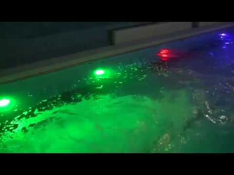Обзор бассейна Санатория Солнечный, Беларусь - Брест (гидромассажи и аквааэробика)