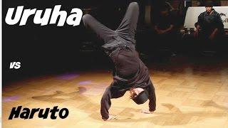 Bboy Haruto vs. Bgirl Uruha. Kid Battle Full Throttle 2017 top 8.