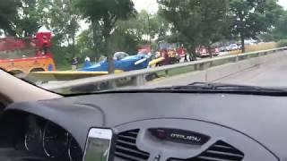Airplane crash landed in Chicago!