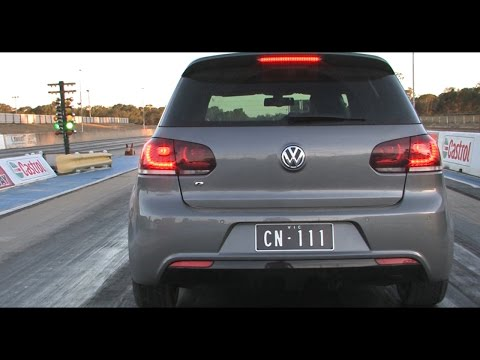 10-second VW Golf R street car