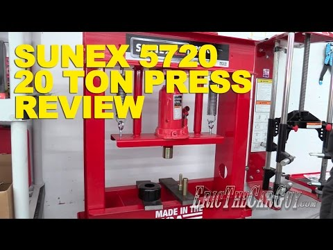 sunex-5720-20-ton-press-review--ericthecarguy