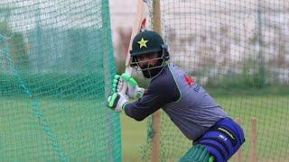 Pakistan Cricket Team 1st Practice session in West Indies   Muhammad Hafeez batting   WIvsPak