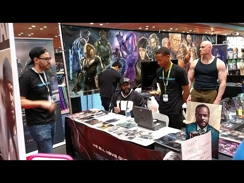 Chad Coleman / Tyreese at New York Comic Con 2015