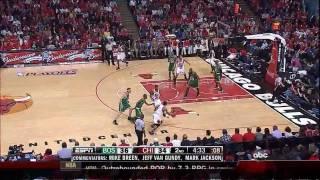 Derrick Rose Highlights vs. Celtics Game 4 Playoffs HD 720p