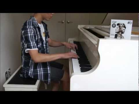 No Words by The Script Piano Cover