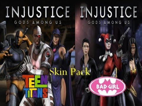 Injustice gods among us teen titans bad girls skin pack gameplay injustice gods among us teen titans bad girls skin pack gameplay voltagebd Gallery