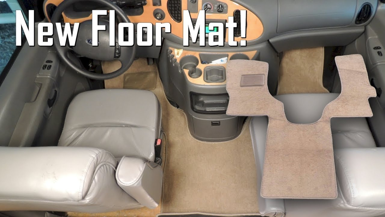 small resolution of ford van floor mat
