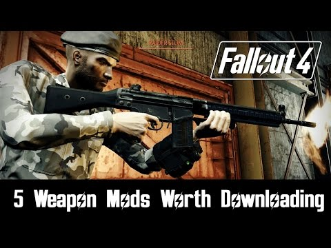 Fallout 4 Mods: 5 Weapon Mods Worth Downloading #2