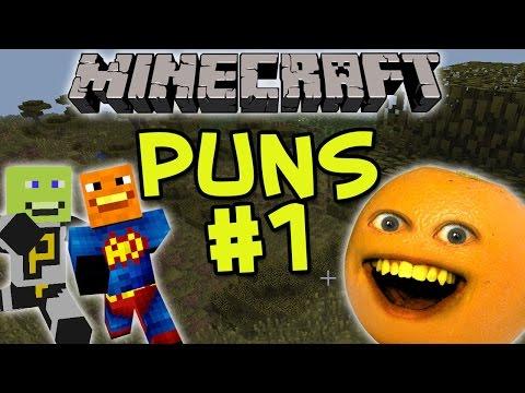 Annoying Orange – Minecraft Puns #1