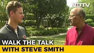 Walk The Talk With Australian Cricket Captain Steve Smith