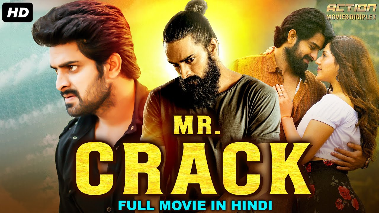 MR CRACK - Hindi Dubbed Full Action Romantic Movie | South Indian Movies Dubbed In Hindi Full Movie