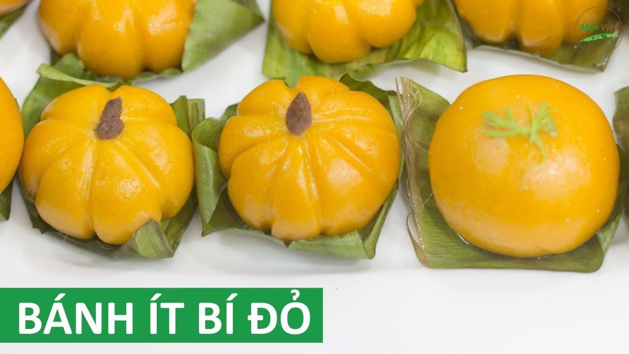 Cách làm Bánh Ít Bí Đỏ hấp nhân đậu đỏ lạ mà rất ngon | Món Việt
