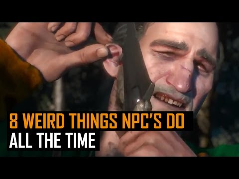 8 weird things NPC's do all the time