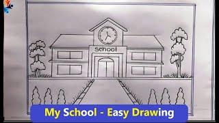Simple Drawings School 2