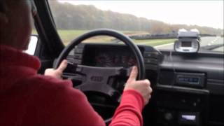 Audi 80 Quattro 20V Turbo GT*X*4094R on street 3.5 Bar boost