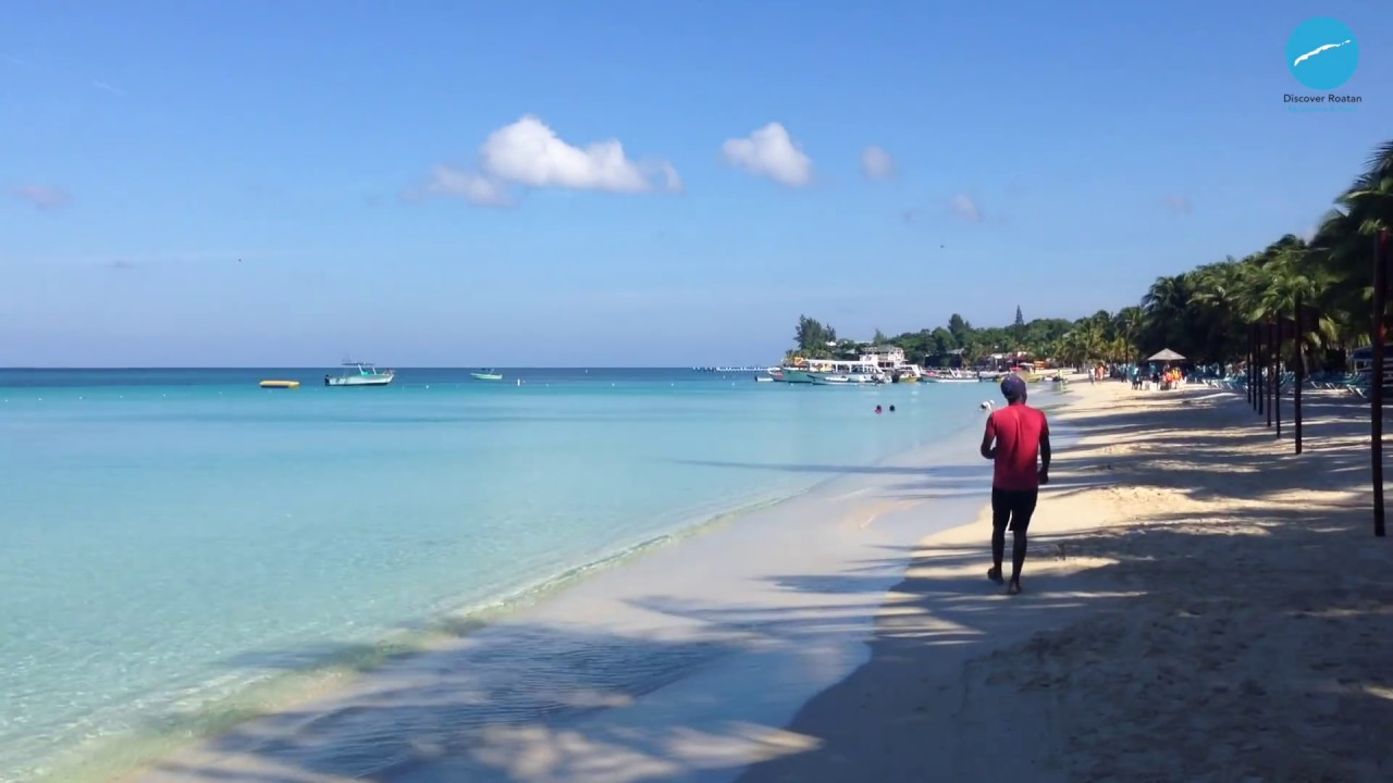 Roatan, Honduras - West Bay Beach HD (2016) - YouTube
