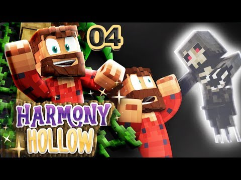 SPOOKY HAUNTED HOUSE  Harmony Hollow Modded Minecraft SMP #4