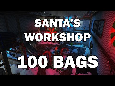 [Payday 2] Death Wish - Santa's Workshop 100 Bags