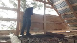 как сделать деревянный фронтон