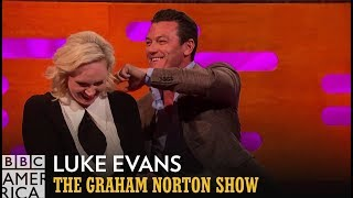 Luke Evans Did Some Crazy Things For Money | The Graham Norton Show | BBC America
