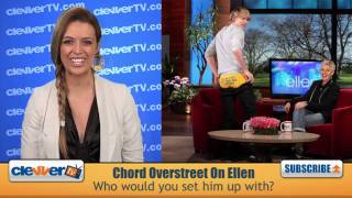 Chord Overstreet Takes It Off For Ellen