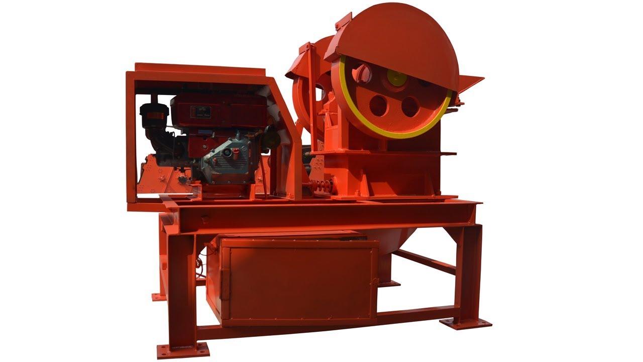 Diesel Engine Mini Stone Crusher Small Stone Crusher Machine Price