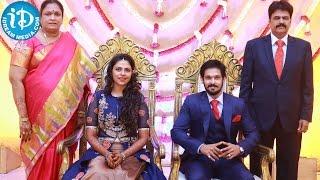 Celebrities At Actor Nakul - Sruti Bhaskar's Marriage Reception Exclusive Video