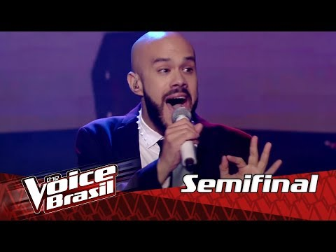 "Juliano Barreto canta ""Mind Trick"" na Semifinal – 'The Voice Brasil' 