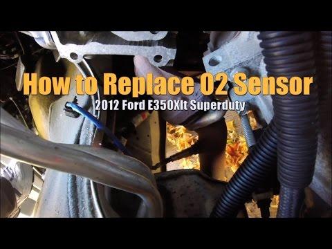 How To Install Oxygen Sensor Ford E-350 5.4 Flex Fuel (Bank 2 Sensor 1)