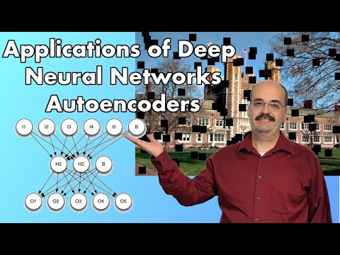 13.1: Deep Neural Network Autoencoders in TensorFlow and Keras (Module 13, Part 1)