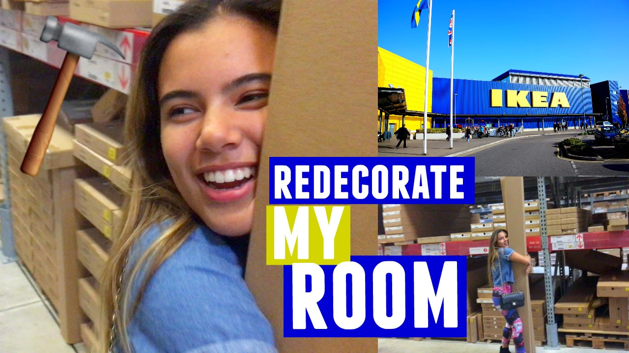 Redecorate My Room With Me New Makeup Storage Youtube