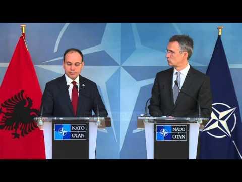 """""""Shqipëria mbështet politikën e dyerve të hapura të NATO"""" - Top Channel Albania - News - Lajme"""