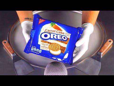 asmr---carrot-cake-oreo-ice-cream-rolls-|-crackling-crushing-tapping-&-scratching-binaural-triggers
