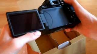 Canon EOS 600D Unboxing [DEUTSCH/GERMAN]