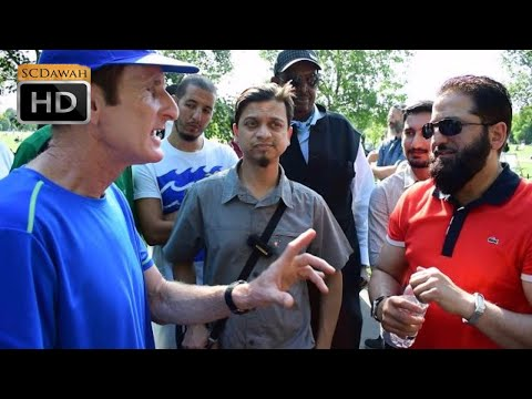 P2 - The First! Abbas & Mansur Vs Atheist | Speakers Corner | Hyde Park