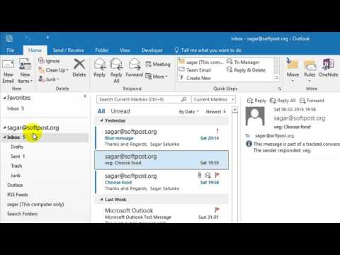 How to permanently delete emails in Outlook - YouTube