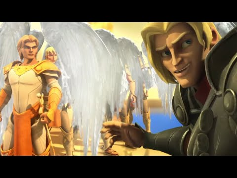 Superbook - Job - Season 2 Episode 8 Full Episode (Official HD Version)