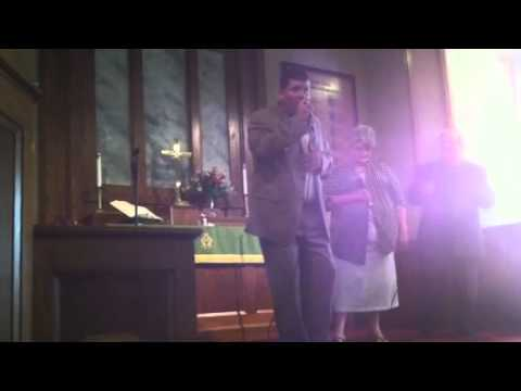 The Gary Lyons Family Somebody Touched Heaven Youtube