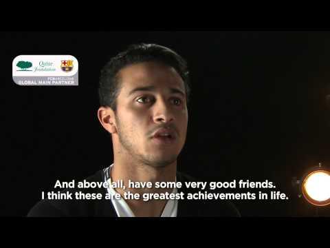 Interview with Thiago Alcantara by Qatar Foundation