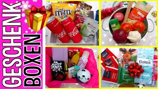 LAST MINUTE  GESCHENKIDEEN zu Weihnachten 😻 10 DIY Geschenkboxen selber machen