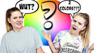 What Color Food Did We Eat for 24 Hours? | Sis vs Sis | Taylor & Vanessa