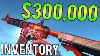 Video The Most Expensive Gun Skin Ever Purchased.. ($300,000 CS:GO Inventory Showcase) download MP3, 3GP, MP4, WEBM, AVI, FLV Januari 2018