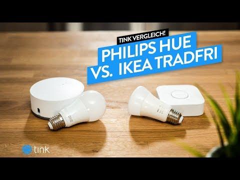 Philips Hue vs Ikea Tradfri Vergleich