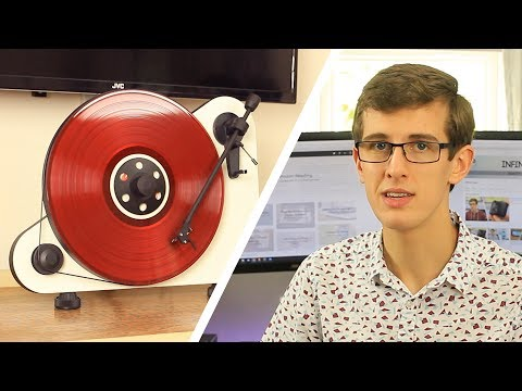 A Vertical Turntable - Pro-Ject VT-E Review