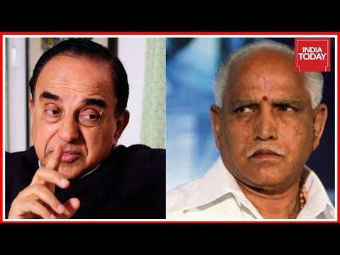 Subramanian Swamy Claims BJP Should Get First Chance To Form Govt In Karnataka