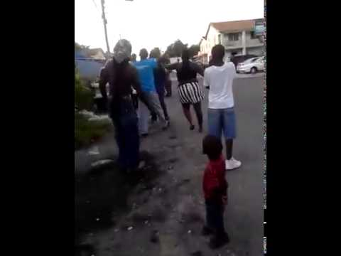 Bahamas Women Fight Senior Citizen